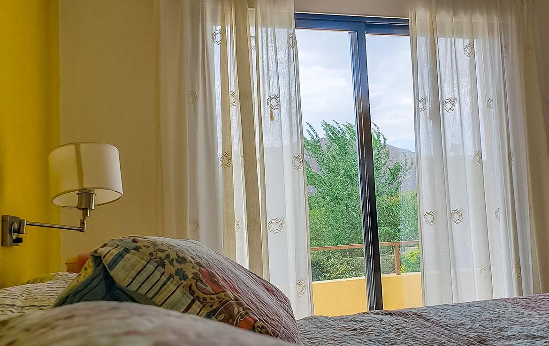 Vista desde dormitorio principal